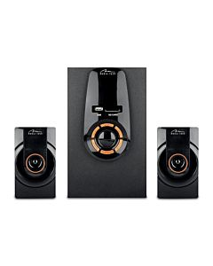 ZORKON 2.1 BT - 3-channels speaker set with Bluetooth and remote controller ,
