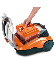Aspirator fara sac Thomas Cycloon Hybrid Pet & Friends 786550, portocaliu