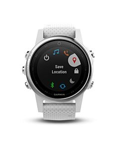 Ceas smartwatch Garmin Fenix 5s, HR, GPS, Carrara White