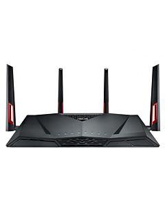 Router wireless ASUS RT-AC88U Black, Dual-Band AC3100 Gigabit, IEEE 802.11 a/b/g/n/ac