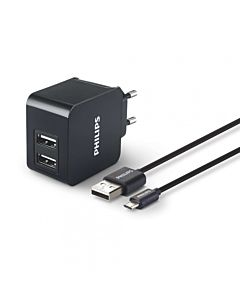 Ph Dual Wall Charger 5v/3.1a-15.5w+usb