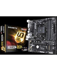 Placa de baza Gigabyte GA-AB350M-DS3H , Socket AM4, DDR4, MicroATX