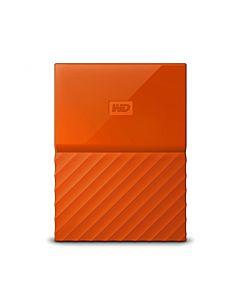 """HDD extern WD My Passport Slim 2TB, 2.5"""", USB 3.0, Orange"""