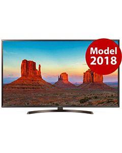 Televizor LED LG Smart TV 49UK6400PLF Seria K6400PLF 123cm negru-gri 4K UHD HDR