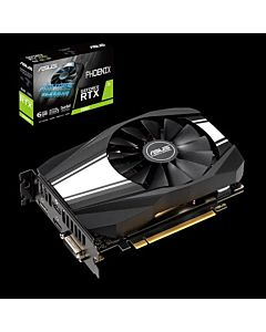 Placa video Asus NVIDIA GeForce RTX 2060, PH-RTX2060-6G, GDDR6 6GB, 192-bit