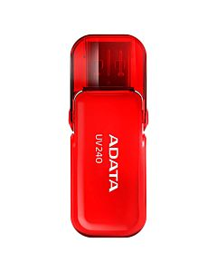 USB Flash Drive ADATA 32GB, UV240, USB 2.0, Rosu