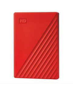 "HDD extern WD, My Passport, 2TB, 2.5"", USB 3.2, Rosu"