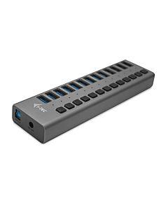 i-tec USB 3.0 Charging HUB 13 port + Adaptor de alimentare 60W 13x USB 3.0