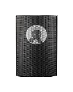 Qoltec SUPER BASS TWO WAY WALL SPEAKER, RMS 10W, 15cm, 8 Om, TRAFO, black