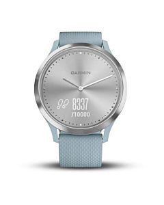 Smartwatch Garmin Vivomove HR Sport, Small/Medium, Seafoam, Silver