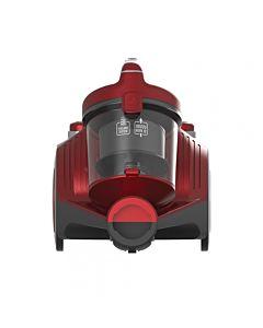 Aspirator fara sac Heinner HVC-MC700RD, 700 W, Filtrare ciclonica, Filtru Hepa 12, Rosu