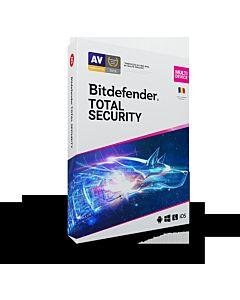 Licenta retail Bitdefender Total Security 2020 - protectie anti-malware completa pentru Windows, macOS, iOS si Android, protectie anti- ransomware cu remediere, prevenire amenintari din retea, anti-furt