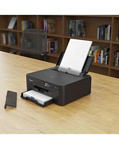 Imprimanta inkjet color Canon TS705, A4, duplex, 15ipm mono, 10ipm color, USB, Retea, Wireless, Bluetooth, negru