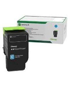 Lexmark 78C20C0 Toner Cartridge Cyan