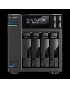Asustor AS6404T NAS - network attached storage tower, 4-bay