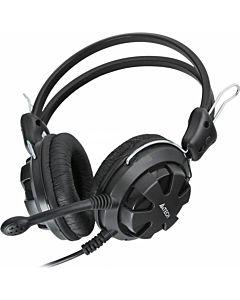 Casti cu microfon A4tech HS-28-1, Negre