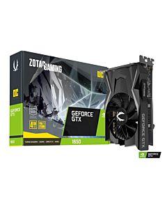 ZOTAC GeForce GTX 1650 OC, 4GB GDDR5, DP, HDMI, DVI-D