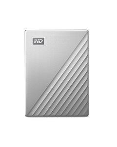 External HDD WD My Passport Ultra 2.5'' 1TB USB3.1 Silver Worldwide