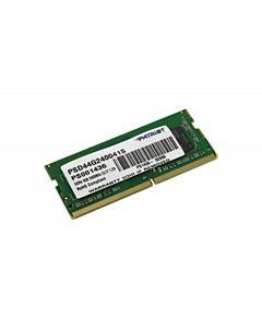Memorie RAM Patriot, SODIMM, DDR4, 4GB, 2400MHz, CL16, 1.2V