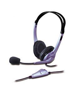 Casti+mic Genius Hs-04s Black
