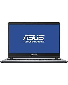 "Laptop ASUS X507UA cu procesor Intel® Core™ i5-8250U pana la 3.40 GHz, Kaby Lake R, 15.6"", Full HD, 8GB, 512GB SSD, Intel UHD Graphics 620, Endless OS, Star Grey"