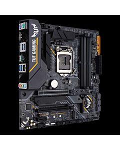 Placa de baza Asus Socket 1151 v2, TUF Z390M-PRO GAMING, 4x DIMM DDR4, 6x SATA 6Gb/s, 7x USB 3.1, mATX