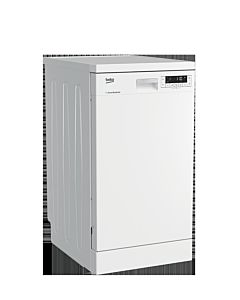 Masina de spalat vase Beko DFS26024W 10 seturi, 6 programe, A++, Fast+™,  Program Mini 30 minute, Motor ProSmart Inverter, 45 cm, Alb