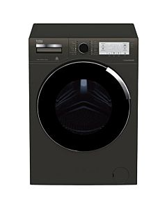 Masina de spalat rufe Beko WTV8734XCM, Premium Line, 8 kg, 1400 RPM, Motor ProSmart Inverter, Optisense, Clasa A+++, 60 cm, Manhattan Gray
