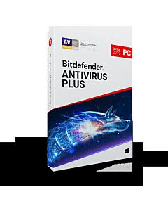Bitdefender Antivirus Plus 2019, un an, 5 dispozitive, retail DVD