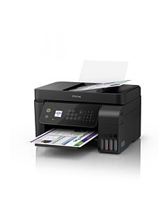 Multifunctionala Epson L5190 Inkjet, CISS, Color, Format A4, Retea, Wi-Fi, Fax