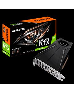 Placa video Gigabyte GeForce RTX 2080 TURBO OC, 8GB, 256-bit