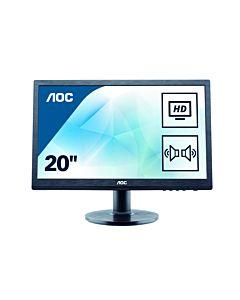 "Monitor 19.5"" AOC M2060SWD2, FHD, MVA, 16:9, WLED, 5 ms, negru"