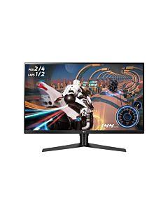 """Monitor 31.5"""" LG 32GK850F-B, WQHD, VA, 16:9, 5 ms, negru"""