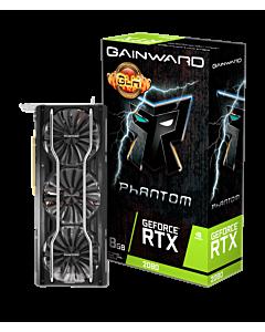Placa video Gainward GeForce RTX 2080 Phantom GLH, 8GB GDDR6, HDMI, 3xDP, USB-C