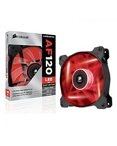 Ventilator Corsair Air Series AF120, 120mm, LED Red, Quiet Edition High Airflow - Twin Pack
