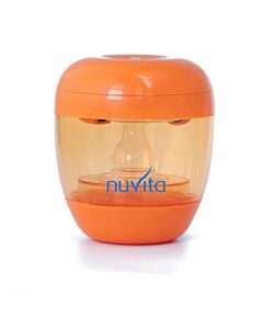 Sterilizator UV portabil Nuvita 1555 pentru suzete & tetine, Portocaliu