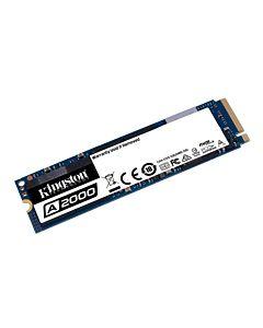 Kingston 250GB SSD A2000 M.2 2280 NVMe PCIe Gen 3.0x4, R/W 2000/1100 MB/s