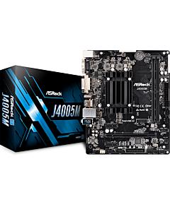 ASRock J4005M, DDR4 2133/2400, SATA3, D-Sub, HDMI, DVI-D