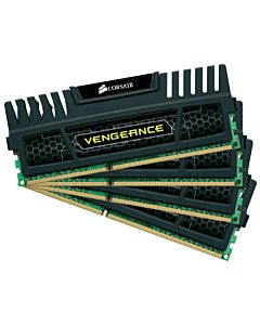 Kit Corsair 16GB (4 x 4GB), DDR3, 1600MHz, radiator