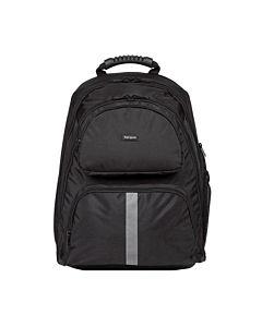 "Rucsac notebook Targus 15.6"", Black, Material rezistent, multiple buzunare, TSB-ATEANO."