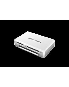 Transcend Card Reader All-in-1 Multi Memory, USB 3.0/3.1 Gen 1, White