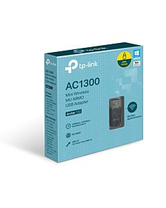 Adaptor Wireless TP-Link Archer T3U, AC1300, MU-MIMO
