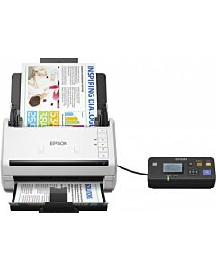 Scanner Epson DS-530N, dimensiune A4, tip sheetfed, 600x600dpi