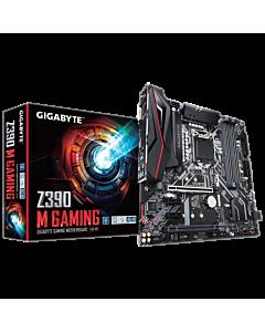 Gigabyte Z390 M GAMING, 1151, DDR4, Dual M.2, USB 3.1 Gen 2 (Type-A+Type-C)
