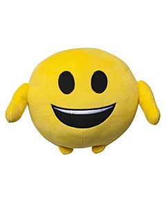 Jucarie de plus Emoticon Happy Face, 11 cm - NV7894