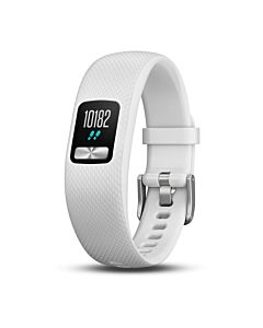 Garmin Vivofit 4, White - (Strap Medium)