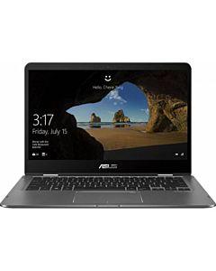 "Laptop Asus ZenBook UX461FA-E1041R, 14"" FHD Touch, Intel Core I7-8565U, Intel HD Graphics 620, RAM 8GB DDR3, PCIEG3x2 NVME 512G M.2 SSD, Slate Gray, Windows 10 Pro"