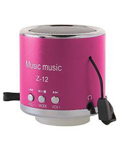 GT PORTABLE LOUDSPEAKERS Z-12 pink