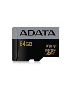 Card de memorie ADATA, microSDXC, UHS-I U3, 64GB, 95/90MB/s