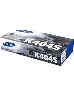 Toner Samsung CLT-K404S/ELS, Negru, SU100A, plus cablu printer